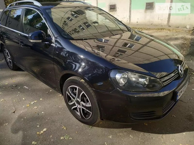 Volkswagen Golf VI Variant BlueMotion 2010