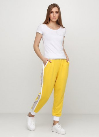 "Брюки ""Only Women"" (94-PS-3-02-yellow/white-lampas-S)"